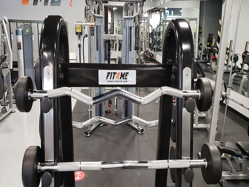 rod with weights